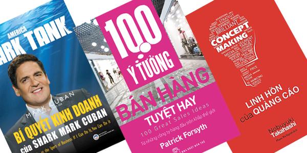 Tặng bạn 3 cuốn eBooks về kinh doanh cực hay